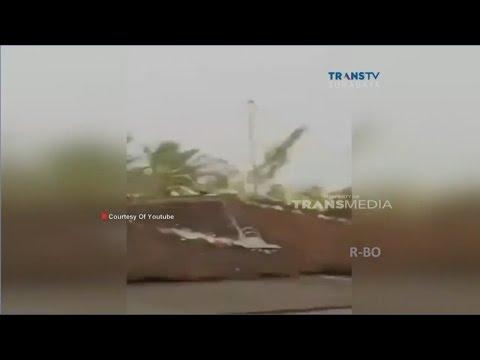 Detik-detik Datangnya Angin Puting Beliung di Malang, Jawa Timur
