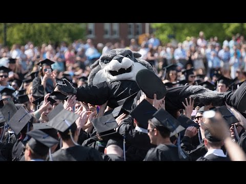 The University of New Hampshire Commencement 2016