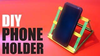 DIY Phone holder for desk