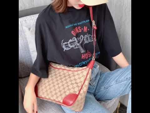 kirahosi 여자 가방 크로스백 빈티지 패션 대용량 숄더백 33호 + 덧신 증정 CH1kn58k