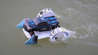 How to make a car - paddle car - paddle boat car