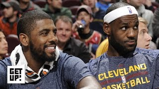 Kyrie will look like he's 'crawling' back to LeBron if he joins the Lakers - Jalen Rose | Get Up!