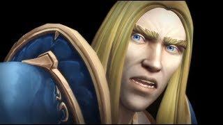 WoW BFA: Jaina's Vision Cinematic | World of Warcraft Battle for Azeroth Cutscenes