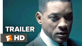 Concussion Official Trailer #2 (2015) - Will Smith, Adewale Akinnuoye-Agbaje Drama Movie HD