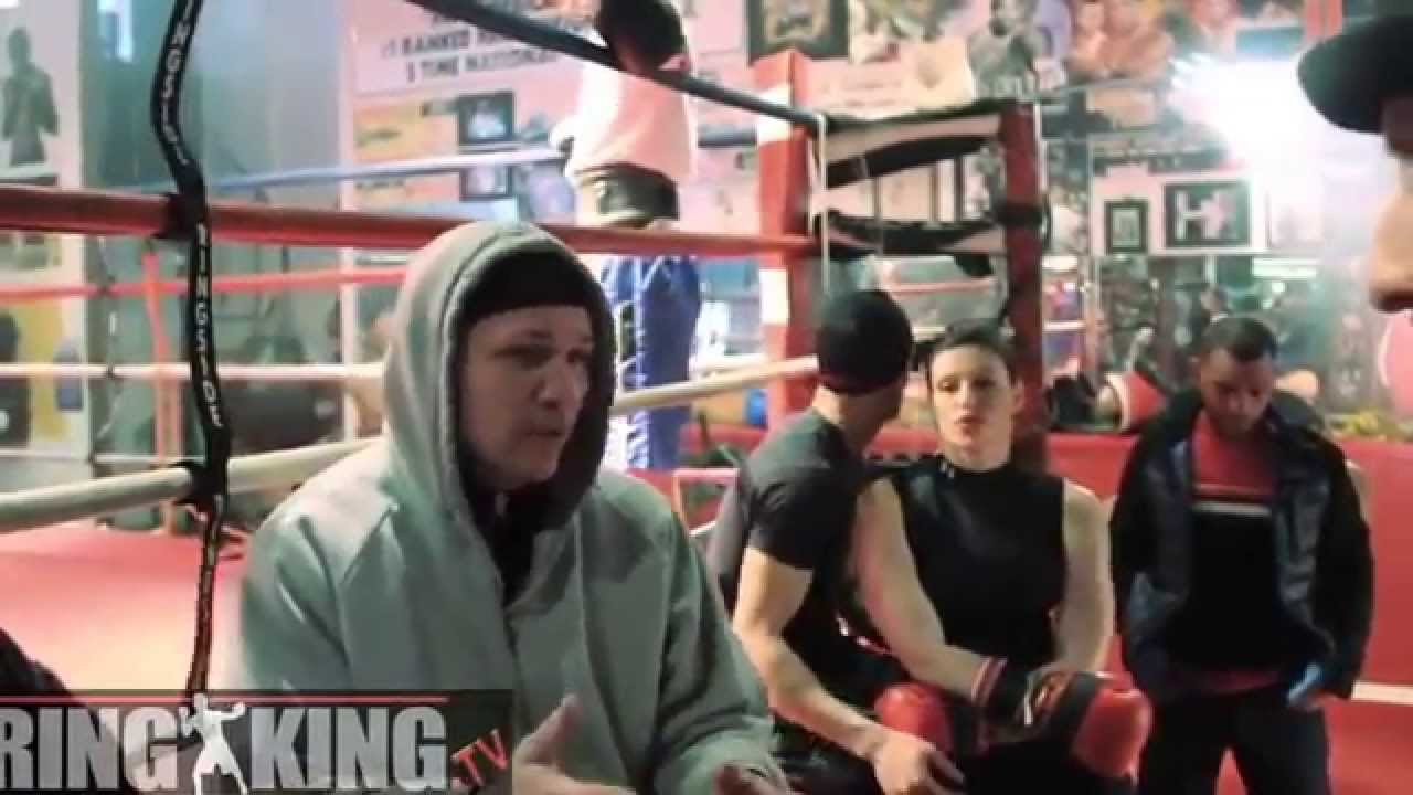 R A The Rugged Man And Iceman John Scully Talking Boxing