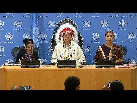 Realizing the rights of indigenous peoples - a decade in review - Press Conference (9 August 2017)