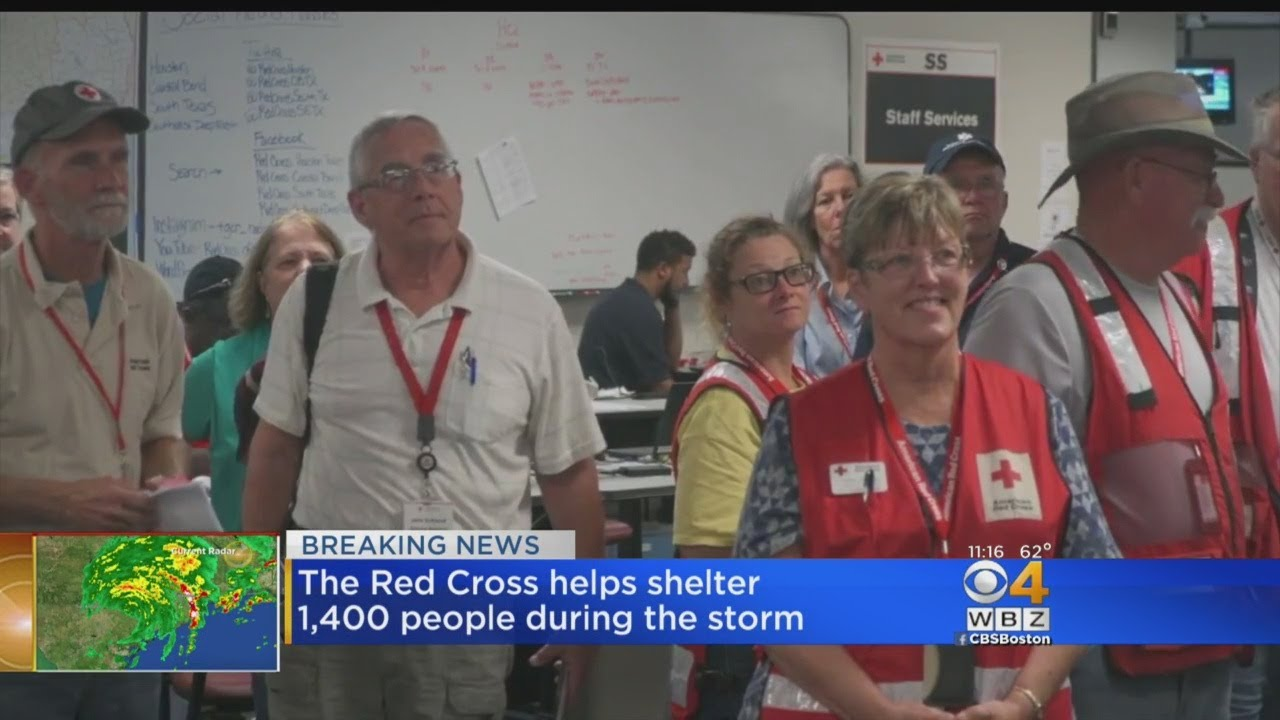 Massachusetts Red Cross Volunteers Dig In To Support Texans Hit By Harvey