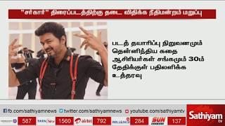 Chennai High court Give permission to Sarkar Movie release | Vijay