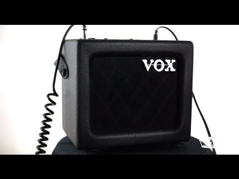 In The Studio: Freddy DeMarco and VOX Mini3 G2 Modeling Guitar Amplifier