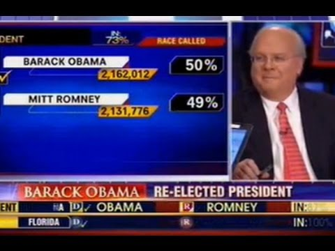 Karl Rove Loses It On Fox News Election Night YouTube - Fox news electionelection results us county map