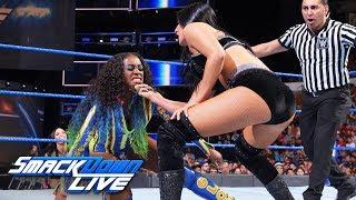Naomi vs. Billie Kay: SmackDown LIVE, Aug. 28, 2018