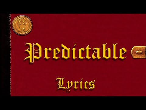 Good Charlotte - Predictable (Lyrics)