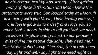 The story of Moon and Sun