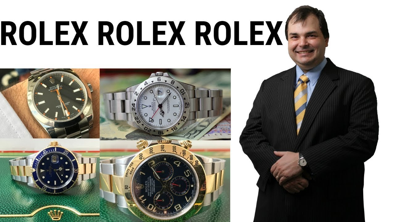83e86ded13f ROLEX PREDICTIONS FOR BASELWORLD 2019 from YouTube Guru ArchieLuxury ...