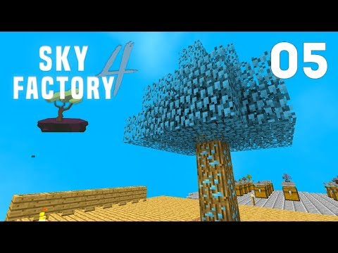 ►Sky Factory 4 - Ep. 5: DIAMOND TREES! (Modded Minecraft 1.12)◄