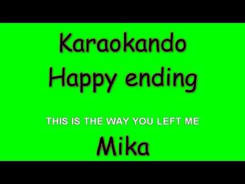 Karaoke Internazionale - Happy ending - Mika ( Lyrics )