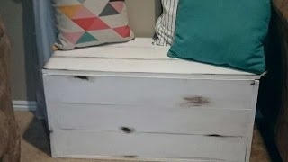 How To Build A Beautiful Toy Box.  - Diy  Tutorial - Guidecentral