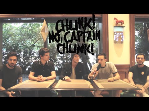 Interview with Chunk! No, Captain Chunk!