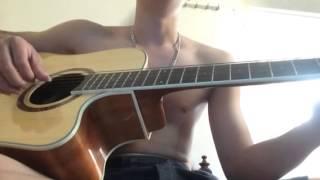 Nhắn gió mây rằng anh yêu em guitar (hoàng hải)