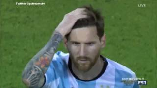 Copa América 2016 FINAL  Chile vs Argentina  FULL Penalty shootout English Commentary