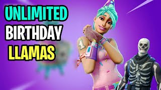 "HOW To Get ""FREE"" Unlimited BIRTHDAY LLAMAS! - Fortnite Save The World (How To Get FREE V-Bucks)"