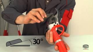 Sharpening your FELCO 820