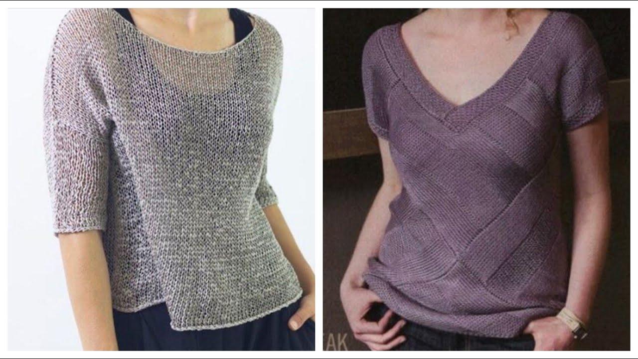 Top stylish crichet blouse with new stylish patterns
