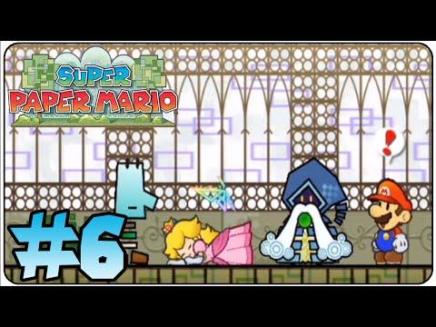 Super Paper Mario Walkthrough Part 6 Heart Pillar 2