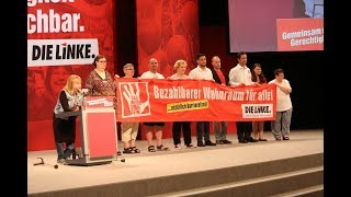 Leipziger Parteitag: Rede von Margit Glasow, Inklusionsbeauftragte der LINKEN