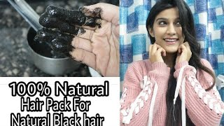 One Ingredient : Turn Grey hair to Natural Black | Hair Pack for White Hair | Super Style Tips