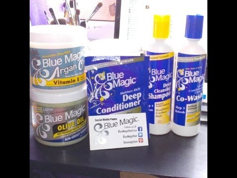 Blue Magic 3 Step System Demo Review