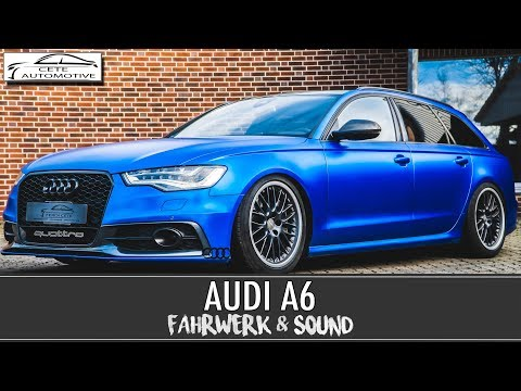 audi a6 3 0 tdi biturbo mit soundmodul doovi. Black Bedroom Furniture Sets. Home Design Ideas