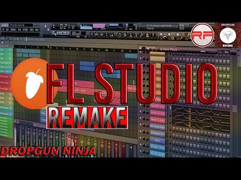 Dropgun - Ninja|FL Studio Remake (FLP & Presets + Download)