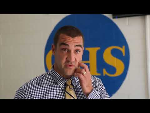 Former student returns to Choctaw High School as principal (2012-08-22)