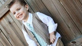 Как сшить жилет для Вашего малыша из старых брюк(, 2013-07-11T13:59:22.000Z)