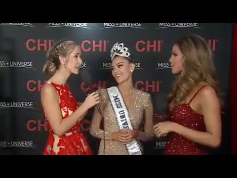 Miss South Africa FIRST EVER INTERVIEW as Miss Universe 2017
