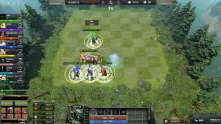 DAWN OF WAR PUDGE CARRY LVL 25 12K HP  VS 7 HEROES LVL 25