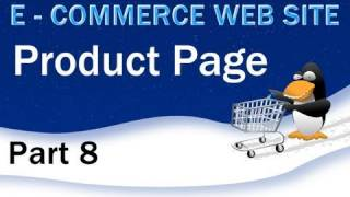 8. E - Commerce Website PHP MySQL Tutorial - Product Display Page