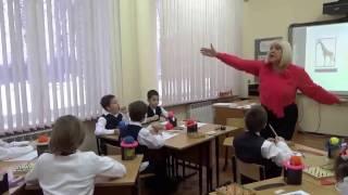 Видеоурок 1 класс Обучение грамоте  Чтение