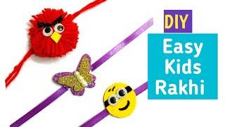 3 Easy#Rakhi making ideas at home #DIY kids Rakhi #Easy Rakhi making ideas for kids #HandmadeRakhi