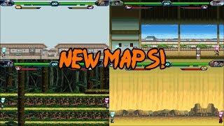 Bleach Vs Naruto 3.0 - New Maps
