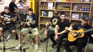 Zebrahead - Sirens (Acoustic) Live in Australia 2014