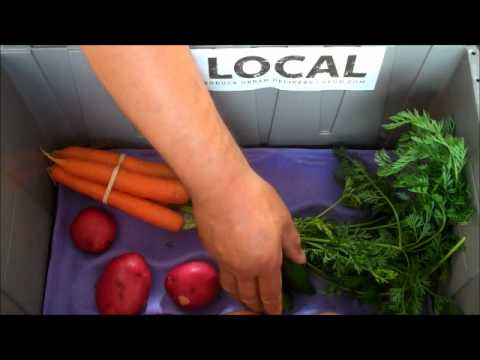 Seattle's local organic produce box - Aug. 16th