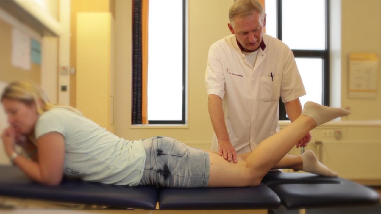 oefeningen na arthroscopie knie