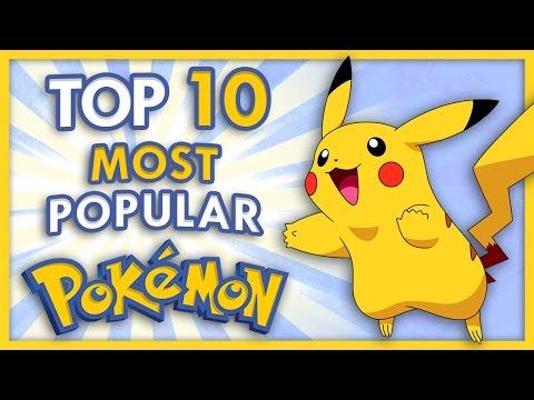 Top 10 Most Popular Pokemon