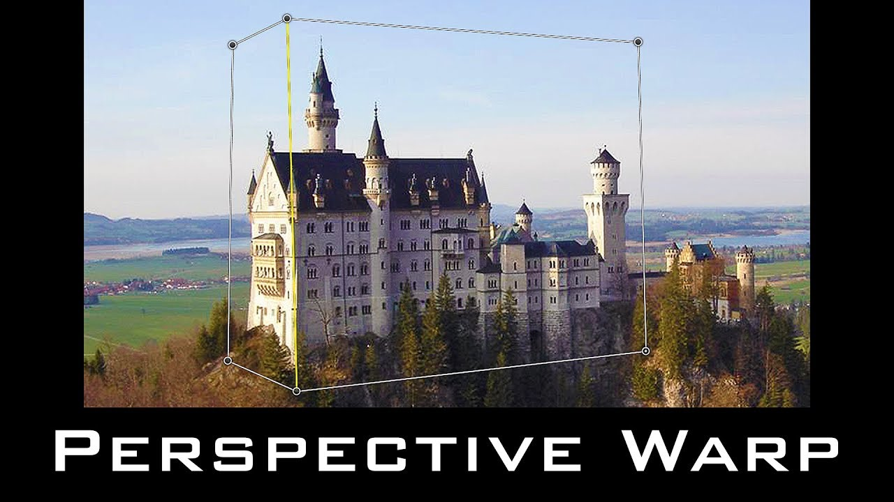Photoshop CC:  How to Use Perspective Warp!