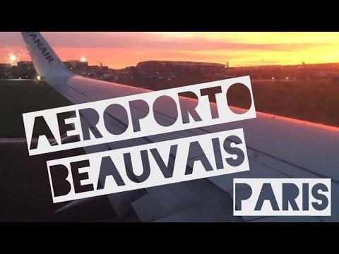 COMO CHEGAR EM PARIS (AEROPORTO DE BEAUVAIS)