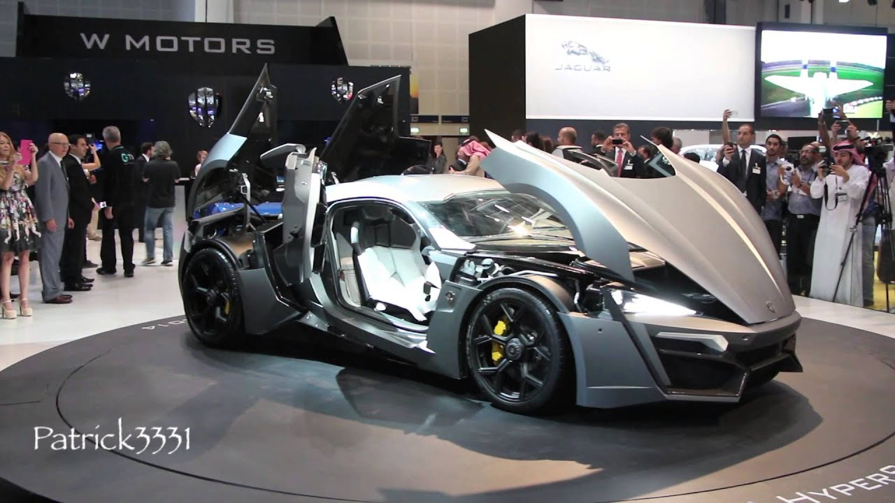 Lykan Hypersport W Motors Dubai Motor Show 2013 Youtube