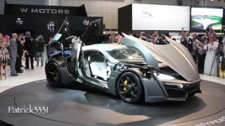 Lykan Hypersport W Motors - Dubai Motor Show 2013