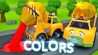 Betoniarka dla dzieci - Nauka kolorów dla dzieci | CzyWieszJak